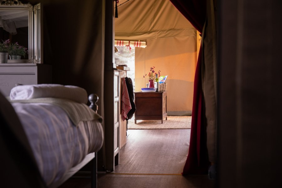 Luxury Glamping South Wales with Hot Tub | Glamping | Dog & Family Friendly